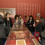 Visite guidée par Isabelle Pleskoff du MAHJ (Paris), lors du vernissage de l'exposition