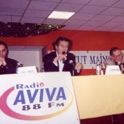 Michaël Iancu, Bernard-Henri Lévy et Guy Zemmour en 2001