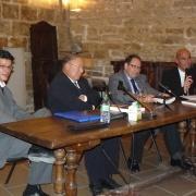 L'administrateur de la Mosquée du Petit Bard de Montpellier Tahar Nedromi, le Recteur de la Mosquée de Paris Dalil Boubakeur, le Bâtonnier Jacques Martin et Michaël Iancu en 2011