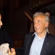 Le Prix Nobel de la Paix Elie Wiesel en 2008