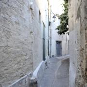 Rue du Figuier dans le Quartier Juif médiéval de Montpellier