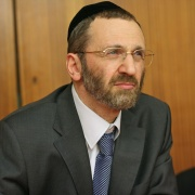 Le Grand Rabbin Gilles Bernheim en 2002