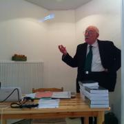Le Professeur Gérard Nahon en 2013