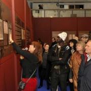 Visite guidée lors du vernissage de l'exposition