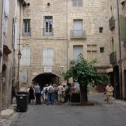 Entrée du Quartier juif médiéval de Pézenas