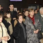 Camille Tabet de Radio Aviva et Edith Moskovic, enfant cachée pendant la Shoah (au premier plan et de gauche à droite)