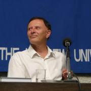 L'universitaire israélien Robert S. Wistrich en 2008